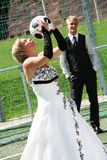 日婚礼 免版税库存图片