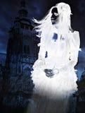 鬼魂维多利亚女王时代的著名人物 免版税库存图片