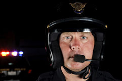 Офицер мотора Стоковые Изображения RF