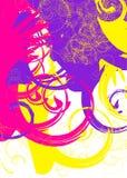 五颜六色的漩涡 图库摄影
