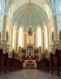 интерьер собора Стоковая Фотография RF