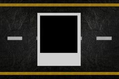 пустая дорога фото картины Стоковое Изображение RF