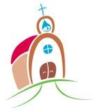 ναός συμβόλων Στοκ εικόνες με δικαίωμα ελεύθερης χρήσης