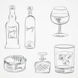 套威士忌酒瓶图片