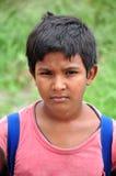男孩印第安年轻人 库存图片