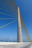 桥梁列 库存照片