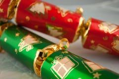 κροτίδες Χριστουγέννων Στοκ Φωτογραφίες