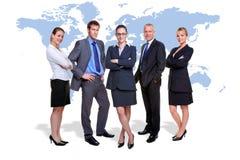 企业全球小组 免版税库存照片