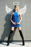 都市的天使 免版税库存照片