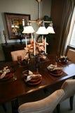обедать нутряная комната Стоковое фото RF