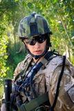 τσεχικός στρατιώτης του &A Στοκ εικόνες με δικαίωμα ελεύθερης χρήσης
