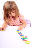早期童年的发展 免版税库存图片