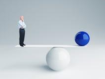 ισορροπία ίσως Στοκ εικόνα με δικαίωμα ελεύθερης χρήσης