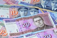 литовские деньги Стоковые Фото