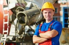 建造者建造场所工作者 库存照片