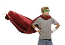 英雄超级年轻人 免版税库存照片