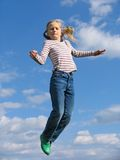 высокий прыжок Стоковые Изображения
