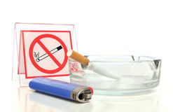 允许的不抽烟 免版税库存照片