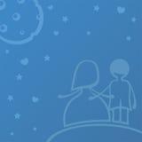 γάμος νύχτας Στοκ φωτογραφία με δικαίωμα ελεύθερης χρήσης