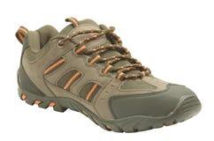 棕色鞋子体育运动 免版税库存图片