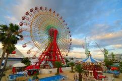 神户马赛克游乐园 免版税库存图片