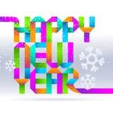 цветастые праздники приветствиям сделали бумаги Стоковая Фотография RF