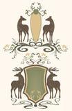живая природа вектора эмблем Стоковое Изображение