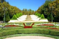французский сад Стоковые Фотографии RF