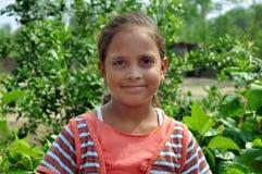 儿童女孩印地安人 免版税库存照片