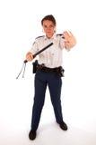 женские полиции офицера Стоковое Изображение RF