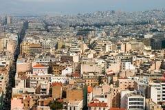 πανόραμα της Αθήνας Στοκ εικόνα με δικαίωμα ελεύθερης χρήσης