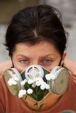 προστασία αλλεργίας Στοκ φωτογραφία με δικαίωμα ελεύθερης χρήσης