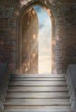 πόρτα νέα στον κόσμο Στοκ Φωτογραφία