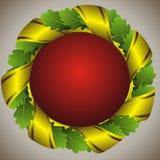 зеленый венок дуба Стоковое Изображение