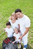 Счастливая семья Стоковые Фото