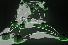 αφηρημένο δίκτυο Στοκ εικόνες με δικαίωμα ελεύθερης χρήσης