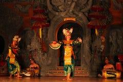 传统巴厘语的舞蹈 免版税库存照片
