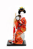 κούκλα ιαπωνικά Στοκ Εικόνες