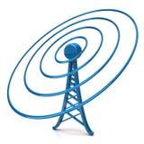 радиотелеграф башни Стоковая Фотография RF
