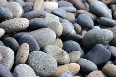 使石头光滑 免版税库存图片