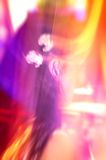 абстрактное цветастое лето девушки Стоковая Фотография RF