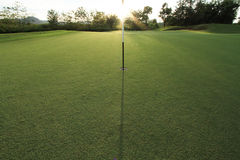 域高尔夫球 免版税库存图片