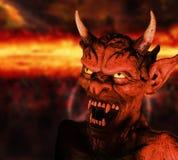 恶魔 免版税图库摄影