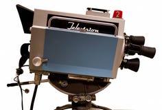 减速火箭的电视工作室照相机 免版税库存照片