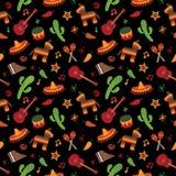 мексиканская картина Стоковые Фотографии RF