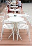 室外咖啡馆的休闲 免版税库存图片