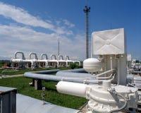 天然气产业 免版税库存照片