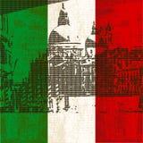 σημαία ιταλική Βενετία Στοκ Εικόνες