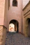 арабское зодчество Марокко Стоковая Фотография