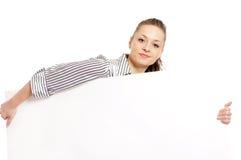 женщина доски Стоковые Фотографии RF